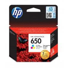 Tusz HP CZ102AE (oryginał HP650 HP 650; 5 ml; kolor)