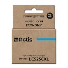 Atrament ACTIS KB-525C (zamiennik Brother LC525C; Standard; 15 ml; niebieski)